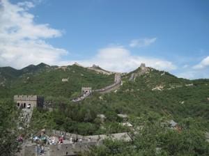 万里の長城 遠景